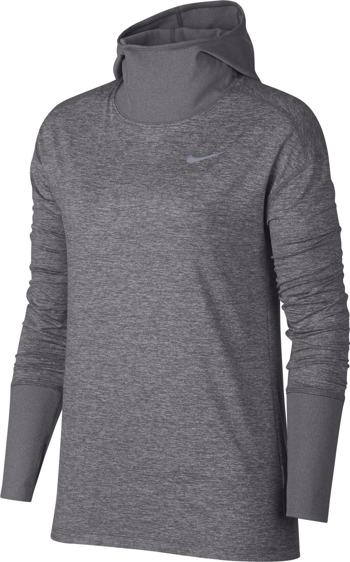 Longues Gris Shirt Femme Element Running Manches Nike T 16WRFqwU